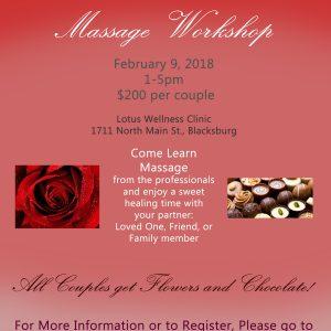 Valentine Couple's Workshop